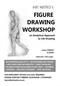 ArtMetro Figure Drawing for Adults